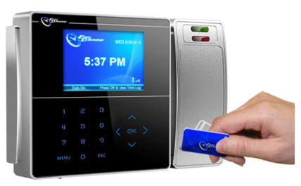 RFID Employee Time Clocks